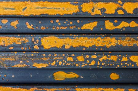 rebar: Rusty rebar steel closeup Stock Photo