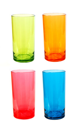 Party Cups In Different Colours photo