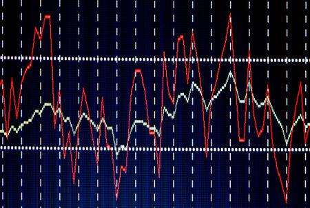 finance background: Financial diagram Stock Photo