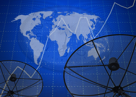 abstract world technology background photo