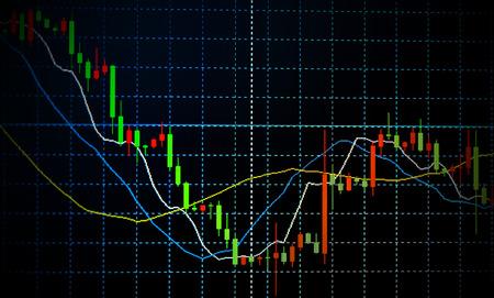 financial figures: Business background. Market Analyze.Bar graphs, diagrams, financial figures. Forex.
