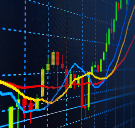 financial figures: Business background. Market Analyze.Bar graphs, diagrams, financial figures. Forex.