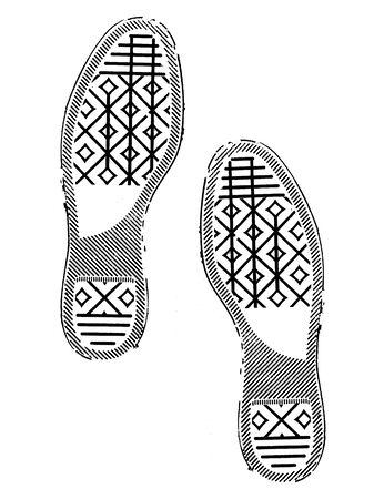 imprint: imprint soles shoes - sneakers