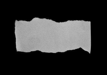 Piece of gescheurd papier Stockfoto