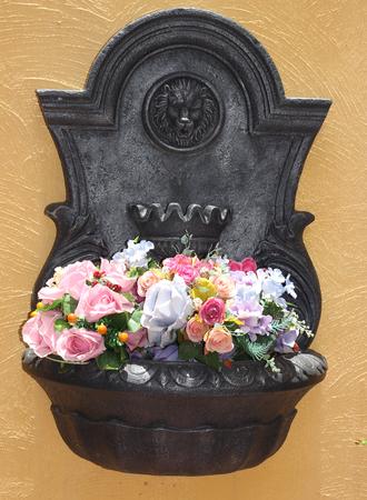 artificial flower: Colorful decoration artificial flower