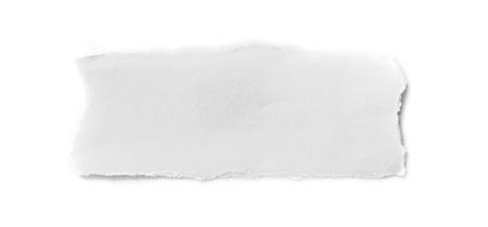 無地の背景に破れた紙の作品。コピー スペース
