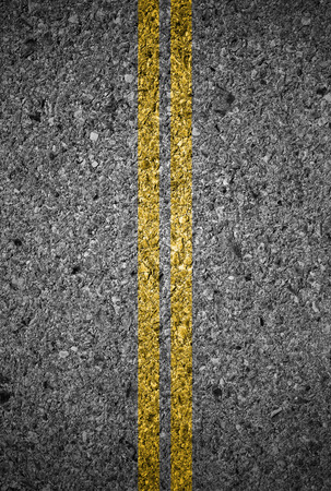 road surface: Lines and lane markings on the on asphalt road surface texture
