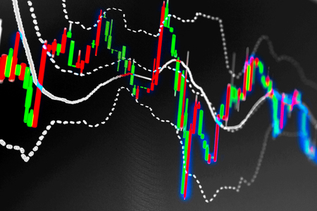 Valutamarkt grafiek