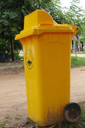 bins: garbage plastic bins