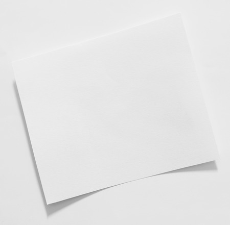 paper sheets: Old vintage torn creased paper isolated on white.