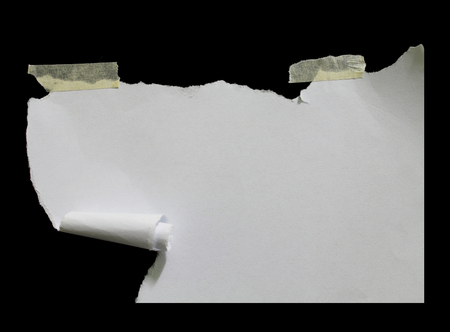 space for copy: Ripped paper, space for copy