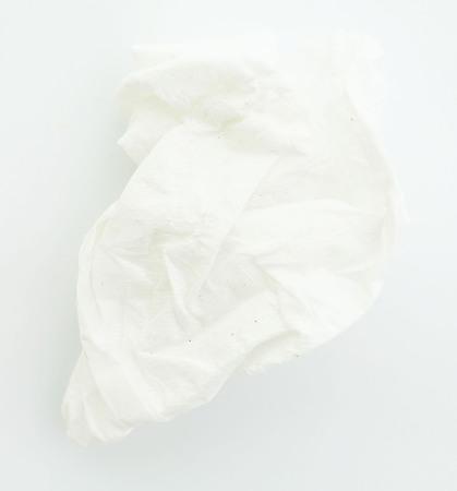 ball lump: tissue-paper