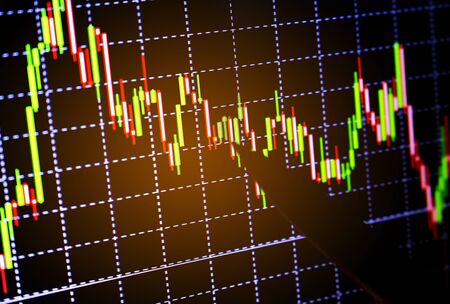 bullish: finance and stock concept,analysis stock