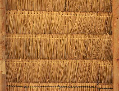 Thatched background Stockfoto