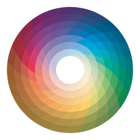 Color wheel. Vector. Иллюстрация