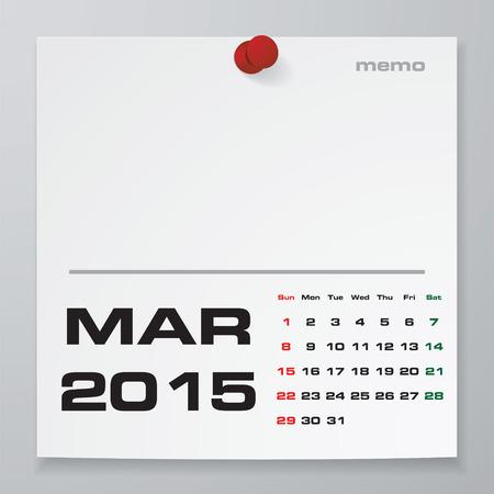 sample calendars 2015