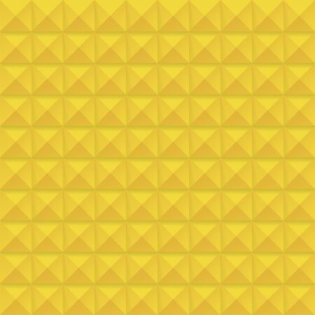 studs: yellow Studs Seamless Texture - Vector yellow studs seamless texture. File includes global colors and pattern swatch. Illustration