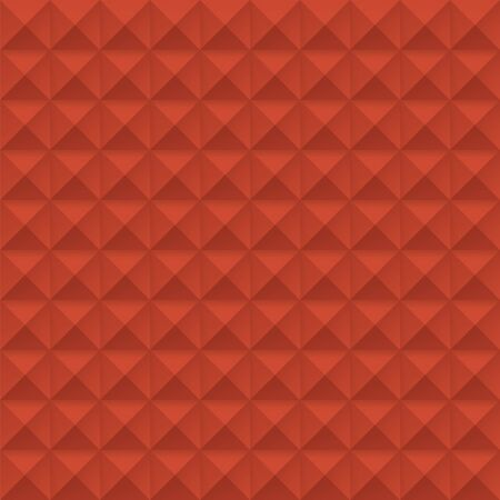 red Studs Seamless Texture - Vector red studs seamless texture. File includes global colors and pattern swatch.
