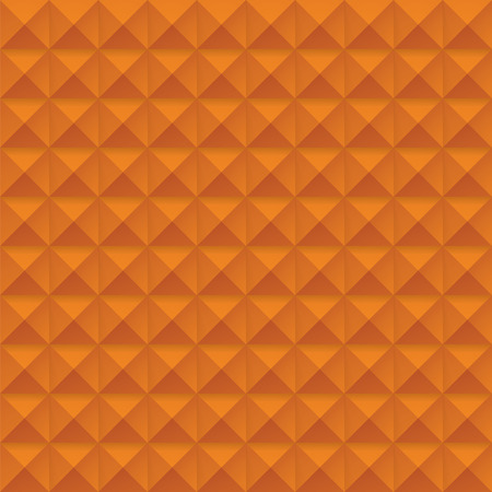 studs: orange Studs Seamless Texture - Vector orange studs seamless texture. File includes global colors and pattern swatch.