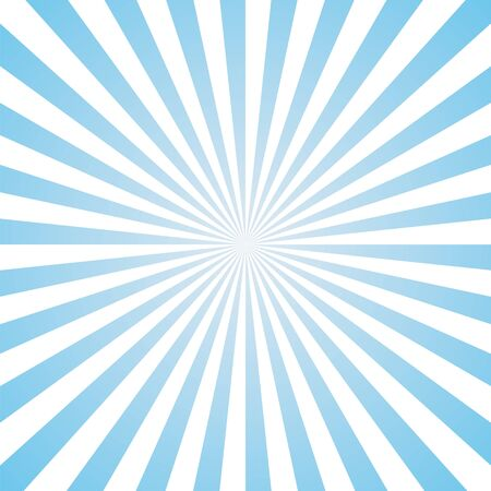 blue and white color burst background. Vector illustration