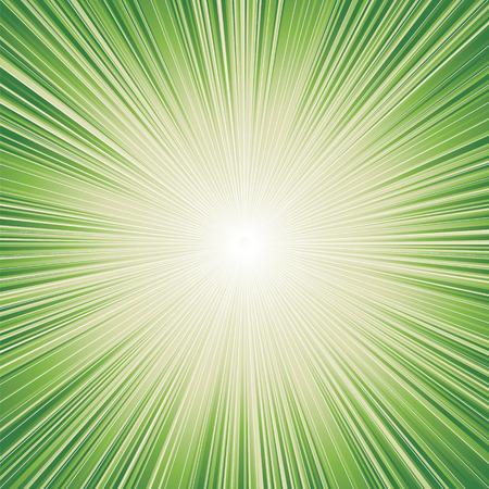 excite: green color burst background