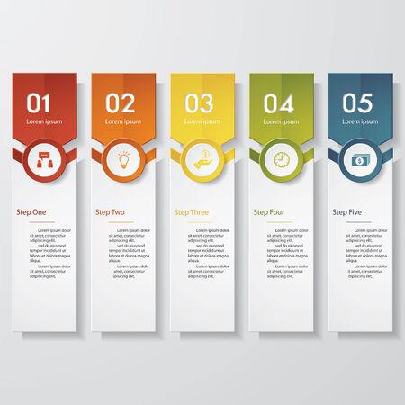 sjabloon: Ontwerpen schoon aantal banners sjabloon. Vector.