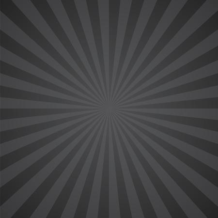 zwart-grijze kleur burst achtergrond. Vector illustratie Stock Illustratie