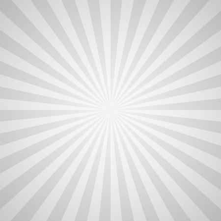 white-gray color burst background. Vector illustration