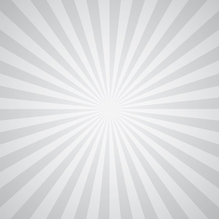 white-gray color burst background. Vector illustration