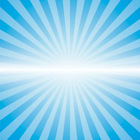 blue color burst background. Vector illustration