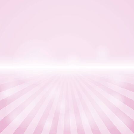 Empty Pink Color Background With Sunburst at the lower side. for sample text and editable background.