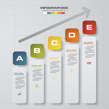 Design chart 5 steps diagram templategraphic or website layout design chart 5 steps diagram templategraphic or website layout simpleeditable vector stock ccuart Choice Image