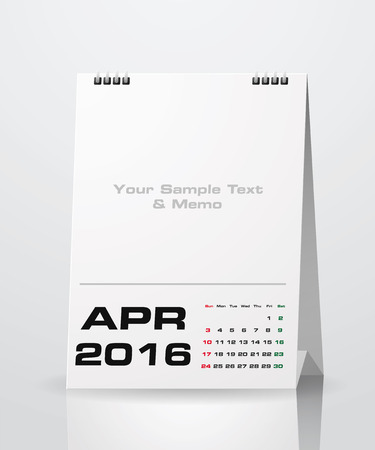Simple 2016 Year Vector Calendar With Free Space For Your Sample.. Royalty  Free Cliparts, Vectors, And Stock Illustration. Image 51469466.