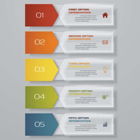 3 steps cycle chart infographics elements for data presentation. EPS 10. Иллюстрация