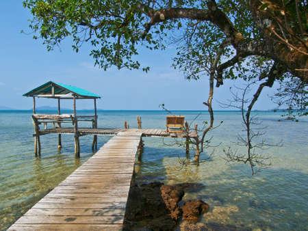 home in sea @ Greenviwe resort :Trad:Thailand