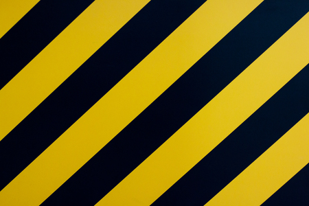 yellow line with black background Stock Photo