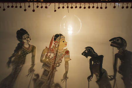 southern thailand: Shadow show is the cultural heritage in the sounthern part of Thailand