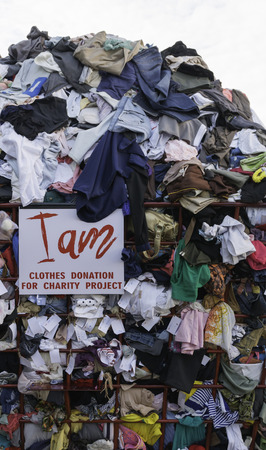 unused: Clothes donation for charity project