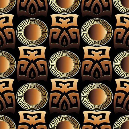 Tribal ethnic wallpaper banner illustration Illustration