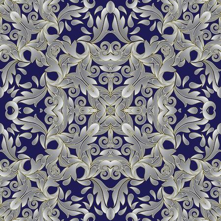 Baroue msk vintage seamless pattern.