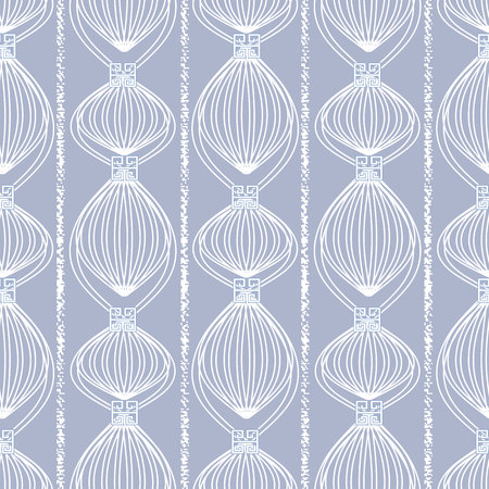 Abstract striped geometric seamless pattern.