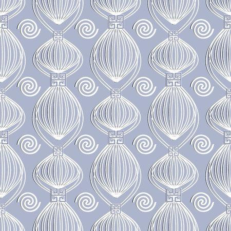 Greek abstract seamless pattern.