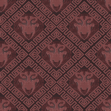 Greek seamless pattern.