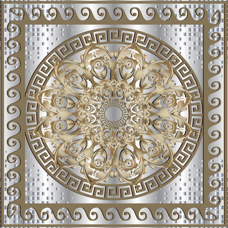 Greek panel pattern.