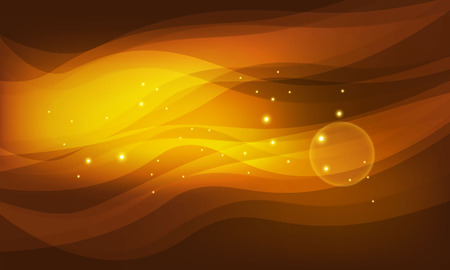 Glowing modern bright 3d vector background. Trendy abstract decoration. Ornamental flamming wave lines. Geometric ornate design with flamy and energy effect. Beautiful texture.