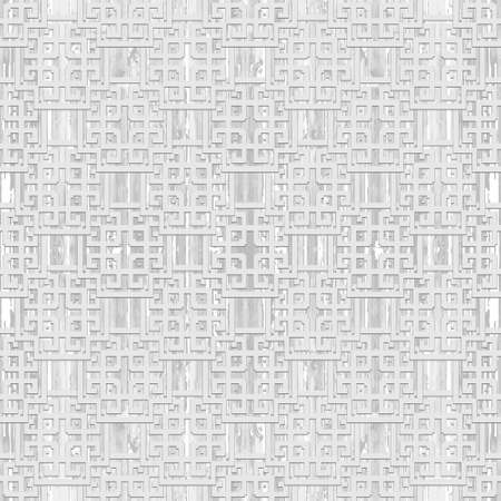 Greek textured seamless pattern. Vector white background. Tribal ethnic greek key, meanders geometric ornament with greek style shapes, lines, symbols. Ornate repeat grunge texture. Elegant backdrop.