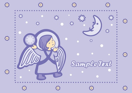 Baby Angel Vector