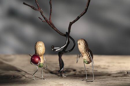 animal figurines: Simple Things - Paradise