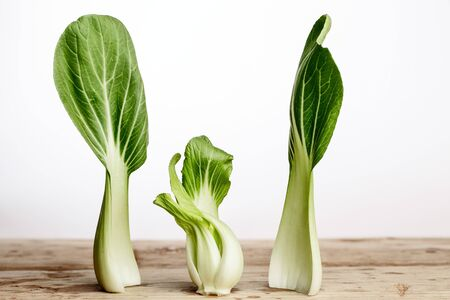 bok choy: Fresh Leaves of Bok Choy ready for cooking