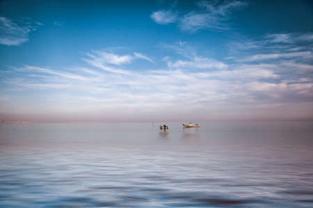 red sea: Small Boats on the Red Sea on a sunny day